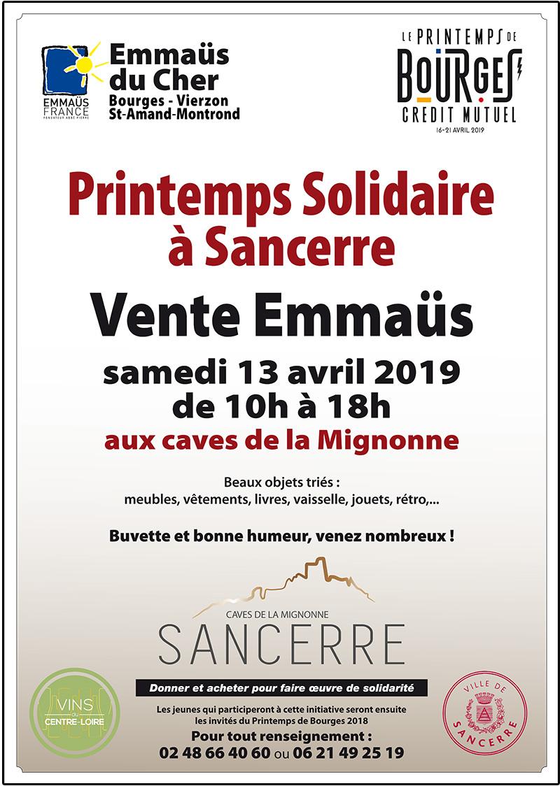 6c87aa70a9ff4 printemps solidaire 2019 affiche collecte printemps solidaire 2019 affiche  vente ...