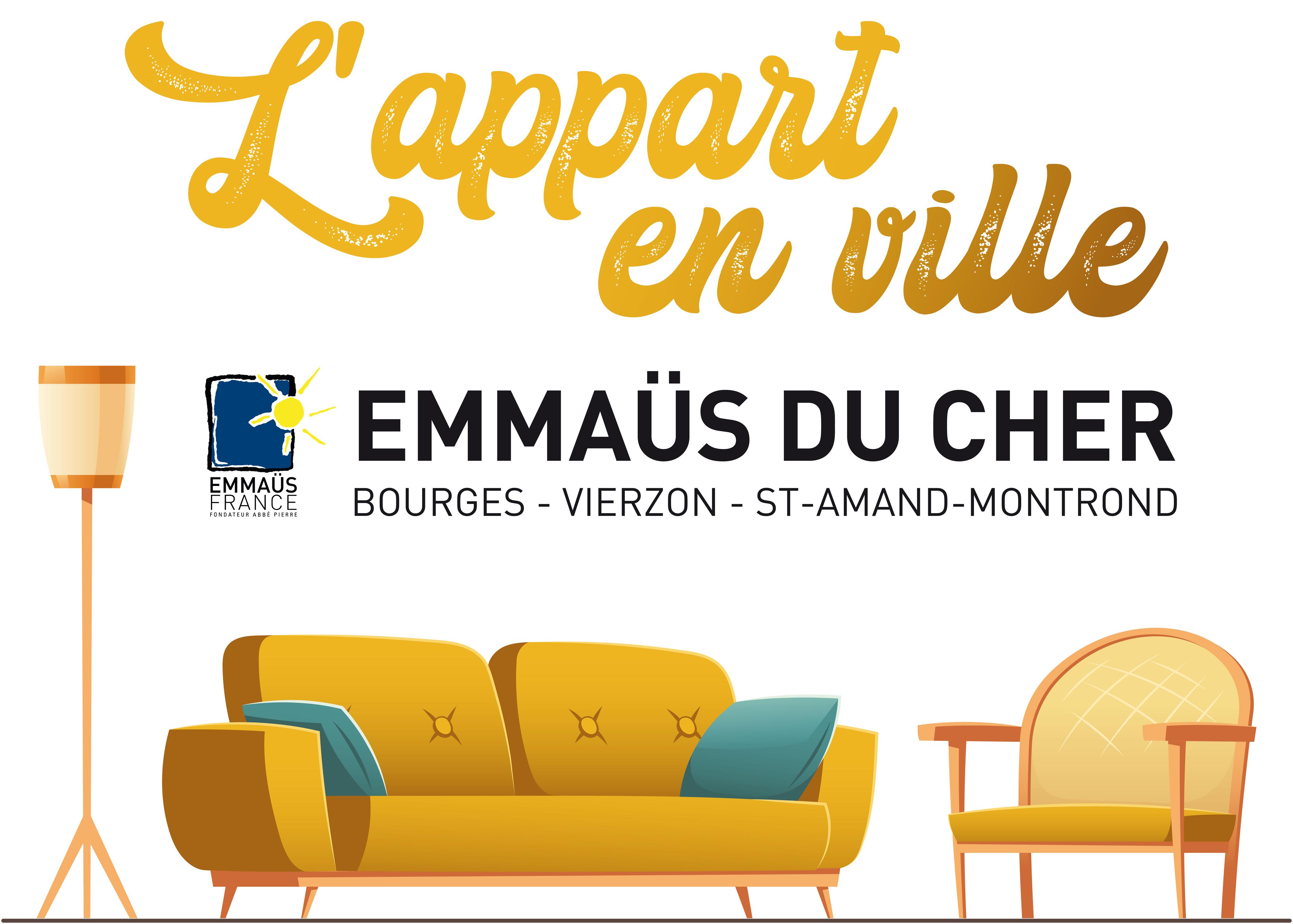 Emmaüs du Cher   Bourges, Vierzon, St Amand Montrond   Accueil